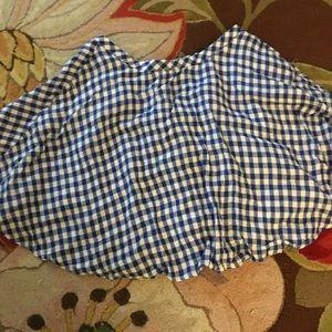 NWOT J.Crew gingham circle skirt - 4