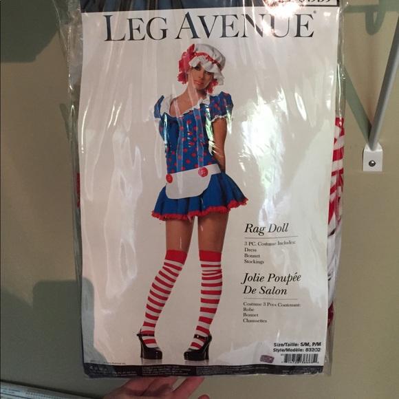 Women/'s Rag Doll Costume Leg Avenue 83202