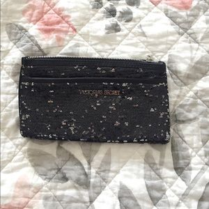 Victoria's Secret double zipper pouch