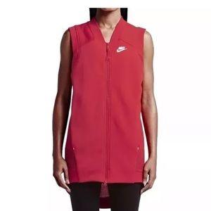 NIKE Tech Fleece Mesh Cocoon Casual Vest Sz M