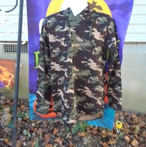 FWRD Denim & Com men's hoodie size large