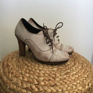 Anthropologie x Matisse oxford heels
