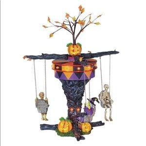Halloween decor Dept 56 Village Swinging Ghoulies