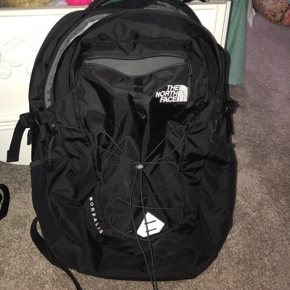 c41003f62 new black north face borealis backpack