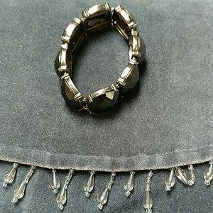 Jewelry - Black stretch bracelet