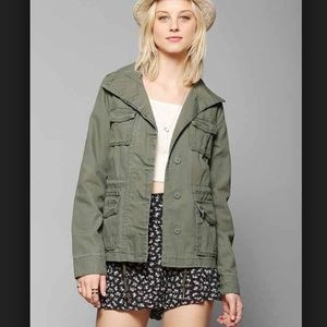 Army Green Urban Outfitters Jacket