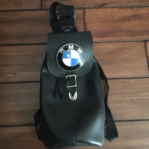Little Earth Handbags - Little Earth Productions BMW backpack bag 0f422d9960