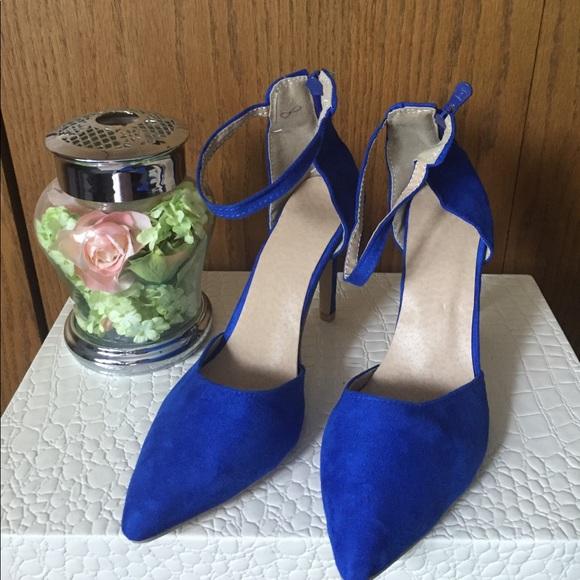 Shoes   Royal Blue Suede   Poshmark