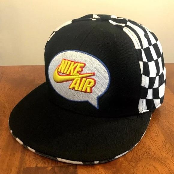 0621311d70b Vintage NIKE AIR 643 HAT CAP ACRYLIC WOOL