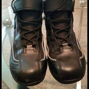 Black 11 BILT Pit Motorcycle Boots