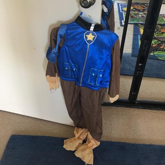paw patrol chase halloween costume