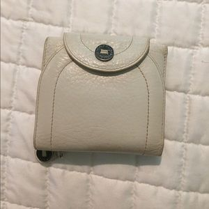 Cream Leather Cole Haan Wallet