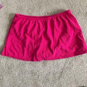 Land's End TAnkini Skirt, NWOT, pink, Size 12P