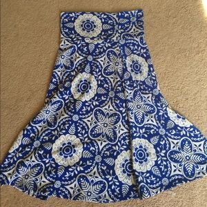 LuLa Roe Azure skirt worn once!