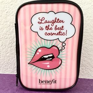 Benefit Cosmetics Makeup Bag: Structured Sides
