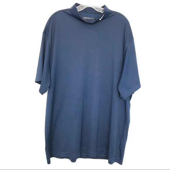 9e419ba7b1c3 Nike Golf Dri-Fit Mock Turtleneck SL Shirt. M 59d1334d78b31c550b0a0cb9