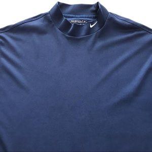 6ee4c90dc Nike Shirts | Golf Drifit Mock Turtleneck Sl Shirt | Poshmark