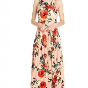 NWOT Blush Rose Floral Maxi Dress