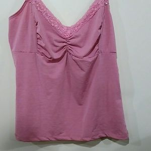 Star City pink tank top with adjustable straps