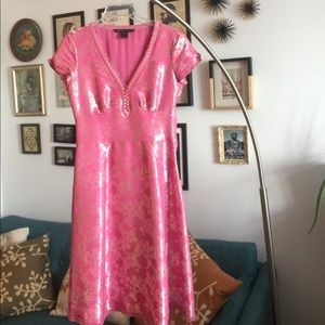 Marc Jacobs vintage pink party dress
