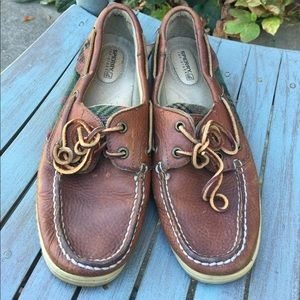 Women's Sperry Top-Sider Brown Boat Shoes Size 8M