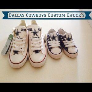 63b0a387203b Converse Shoes - Dallas cowboys converse