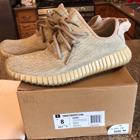 big sale f6cea 1e246 Yeezy 350 Boost Oxford Tan (GOAT authenticated)
