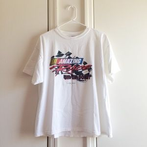 Tops - Amazing Race White Tee