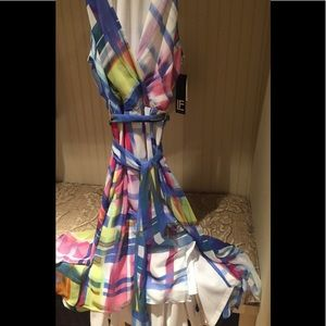 Leslie Fay chiffon dress