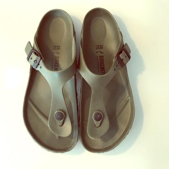 e4797643964e Birkenstock Shoes - Rubber Gizeh Birkenstocks ~ Olive Green🌿