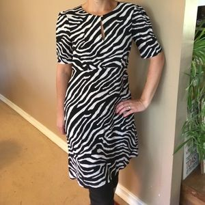 H&M zebra dress NWOT