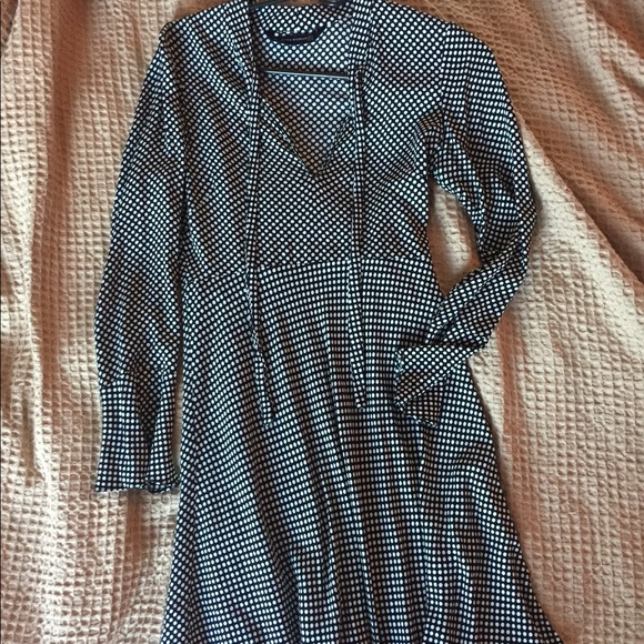 8bc9fd9f SALE! 🖤 Zara polka dot dress Realisation style. M_59d1411836d59407b80a4162