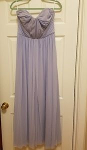 ASOS Multiway Maxi Dress Sz 8 Ice Blue Lavender