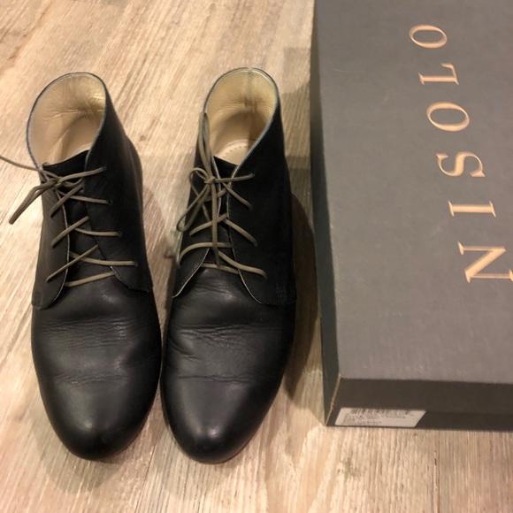 Nisolo Womens Harper Chukka Boots