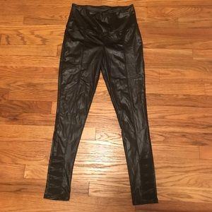 Pants - NWOT coated leggings