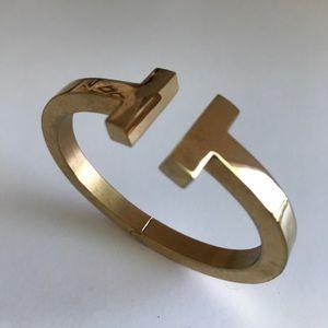 Jewelry - Solid Brass Hinged Cuff Bracelet