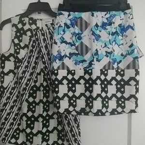 Peter Pilotto for Target pencil skirt size 2 NWT