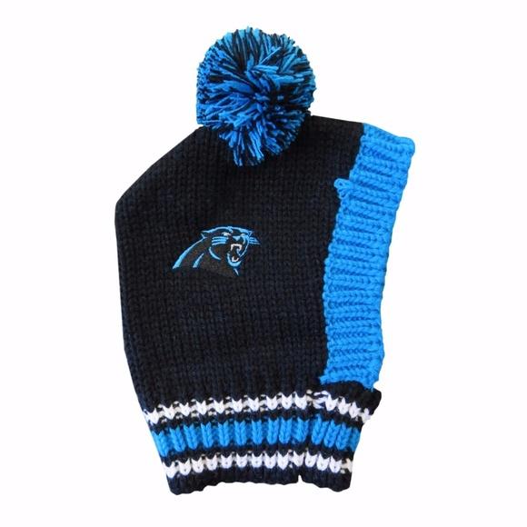 3e32c991325 Carolina Panthers Pet Knit Hat. Boutique. NFL