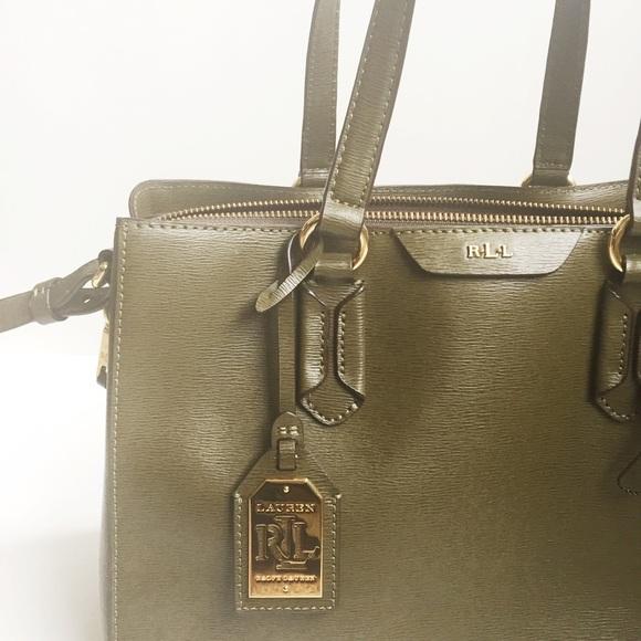 Lauren Ralph Lauren Handbags - Lauren Ralph Lauren Olive Green Bag 27481e0f49