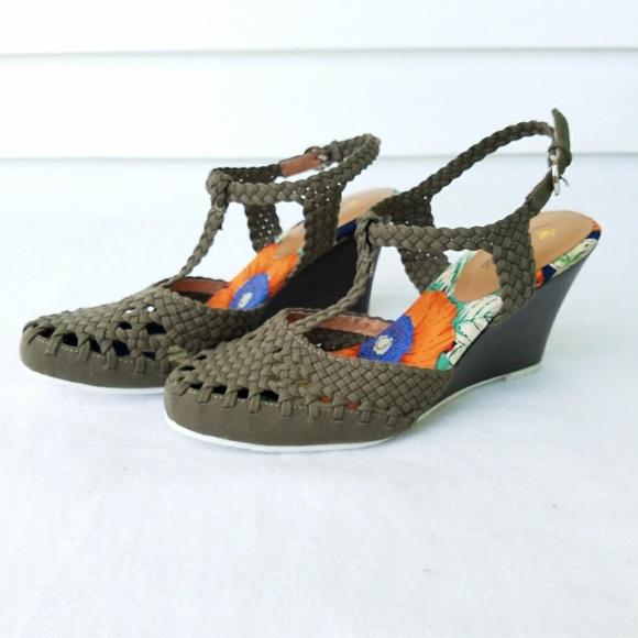 0b648083fd Nina Originals Matrix Crochet Wedge Sandal. M_59d14a9eea3f36079c0a8ba5