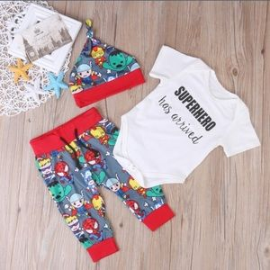 Other - Superhero baby outfit