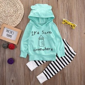 """Other - """"Its 5 AM somewhere"""" baby outfit"""