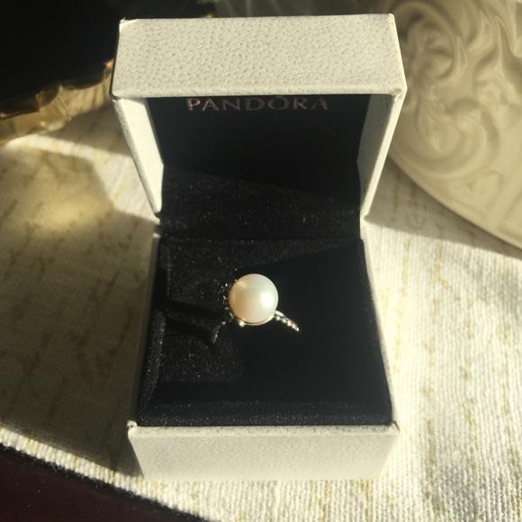 373641666 Pandora Jewelry | Sz 50 Sterling Silver Pearl Garden Odyssey | Poshmark