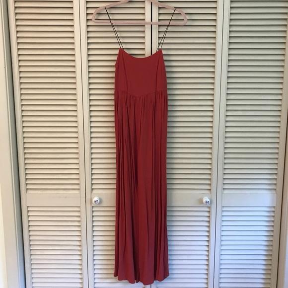 7522a17eac Asos Dresses   Skirts - ASOS rust colored wide leg jumpsuit