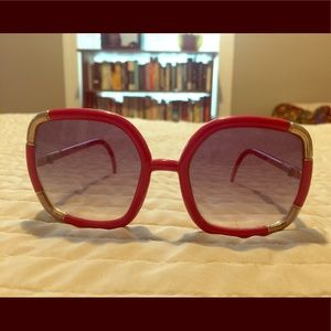 Genuine vintage Ted Lapidus sunglasses 70's non rx