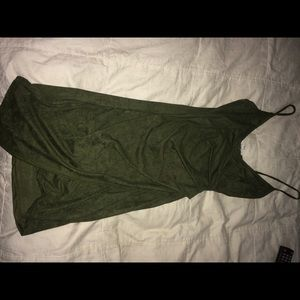 Dresses & Skirts - Agaci suede dress