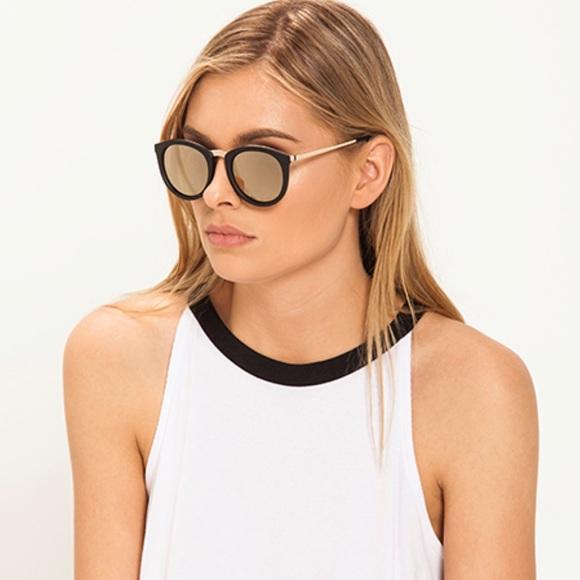 60a99fd356 Le Specs Accessories - Le Specs No Smirking Black Matte and Gold