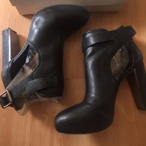 BCBG Max Azria Lamb Leather Booties