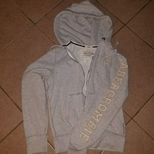 Abercrombie and Fitch Zip-Up Hoodie