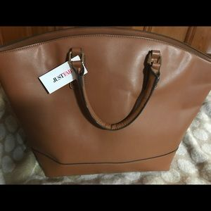 Just Fab oversized bag, new
